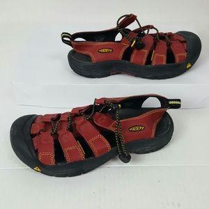Keen sandals red waterproof  women size 5